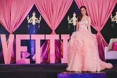 debut ideas Shades of pink in luxe details channeled this post-debut celebration. 18th Debut Theme, 18th Debut Ideas, Debut Themes, Debut Backdrop, 18th Party Ideas, Debut Planning, Debut Program, Debut Party, W Dresses