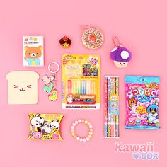 ❤ Blippo.com Kawaii Shop ❤ — kawaii-box-co:   ❤ WHAT'S IN THE JULY KAWAII BOX…