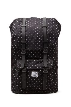 Herschel Supply Co. Little America Polka Dot in Black & White | REVOLVE