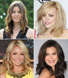 Celebrity Hairstyles: Mid-Length Edition
