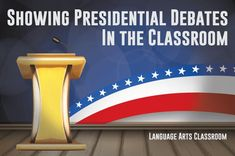 Watching political debates with students teaches them about the political process and public speaking concepts. Keep the process smooth, though!