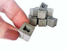 1:12 Scale Mini Half Cinder Blocks (15pk)