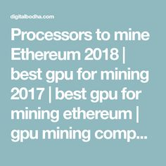 22 Best GPU for Mining - | INDIA | Buy Online | images in 2018