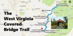 There's A Covered Bridge Trail In West Virginia And It's Everything You've Ever Dreamed Of