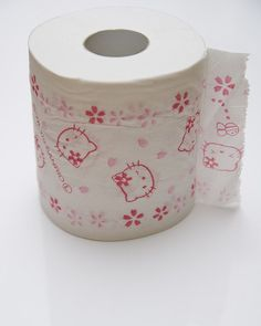 Hello Kitty Toilet Roll!! You know what I want to say but cant. Gotta keep it clean! HAHAHA