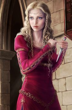"Mercy: ""Though she be but little,  she is fierce."""