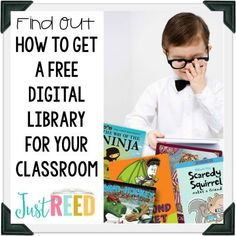 Build an epic digital library for your classroom for FREE!  Books that are perfect for Daily 5 Read to Self!
