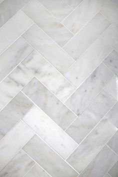 Chevron marble tile.