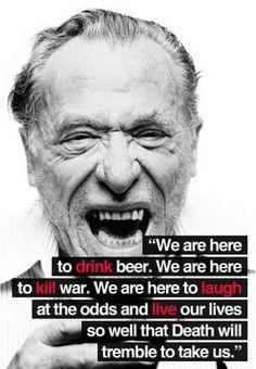 Charles Bukowski | estilo de vida decadente