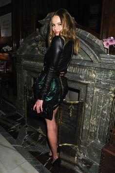 Kate Bosworth in Balmain at Moda Operandi Party | Styleite