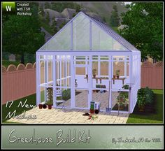 shakeshaft's Greenhouse Build Kit