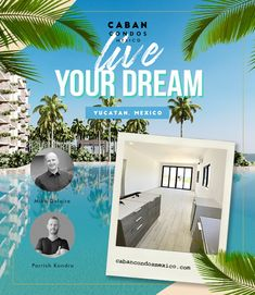 México ocean front ownership may not be in your cards right now but you never know what the future may bring!  We will be here when you are ready for the simple life.  🏖 ☀️    #mexico #realestate #design #beach #condo #yucatan #interior Beach Village, Ocean Front Property, Living In Mexico, Beach Properties, Rooftop Terrace, Beach Condo, Us Beaches, White Sand Beach, Pent House