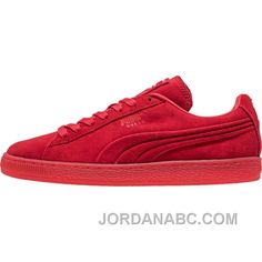 http://www.jordanabc.com/puma-suede-mono-embossed-iced-mens-high-risk-red-on-sale.html PUMA SUEDE MONO EMBOSSED + ICED (MENS) - HIGH RISK RED ON SALE Only $71.00 , Free Shipping!