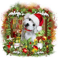 Adrienne´s Designs: Snow Puppy/Happy Holidays