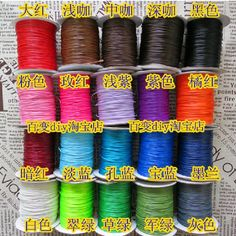 >> Click to Buy << 100 Yards Korean Waxed Cord String Thread 1mm #Affiliate