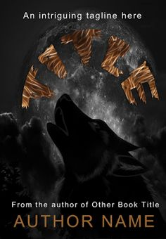 Book Skins Premade Covers: Horror and Supernatural