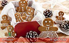 Biscotti di pan di zenzero - Gingerbread, ricetta Natale