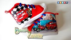 World of Cars and Planes toodlers custom canvas shoes handmade