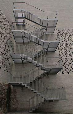Отделка фасада 3D панелями из бетона