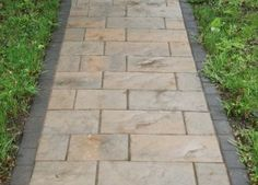 Exterior How To Make A Walkway With Pavers With Installing Walkway Pavers Also Laying Pavers For Walkway And Walkway Pavers for Versatile Garden View Paver Walkway Dimensions. Walkways With Pavers. Paver Pathway, Outdoor Walkway, Brick Walkway, Front Walkway, Outdoor Landscaping, Front Yard Landscaping, Walkways, Driveways, Flagstone