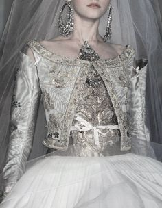Christian Lacroix - And this was the bridal costume I wore when forced to marry Ming the Merciless before Flash Gordon came to save me. <3 - Monika Meyer Shouse