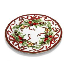 """Tiffany Holiday™ dinner plate in porcelain. 