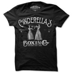Cinderella Tee Mens Black