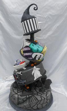 The Nightmare Before Christmas Cake