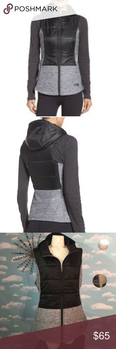 North Face Vest- New! Women's Pseudio Vest. Gorgeous vest!! Hooded, Size XL. Poshmark rules only! Reasonable offers welcome! 🚫No Trading! I value the trust it takes to purchase items from a complete strangers closet and I will personally guarantee your satisfaction! Thank you! North Face Jackets & Coats Vests