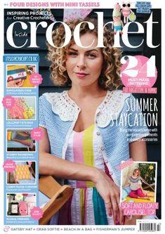 Simply Crochet, Love Crochet, Knit Crochet, Crochet Sweaters, Knitting Magazine, Crochet Magazine, Crochet Chart, Crochet Patterns, Gatsby Hat
