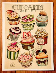 I am thinking of this for a new tatt......but where would I put it???......enjoying these cup cakes