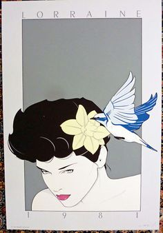 Patrick Nagel - Original Serigraph - Lorraine - 1981 | eBay Illustrators, Illustration, Painting Illustration, Serigraph, Art, Kinder Art, Prints, Nagel Art, American Artists