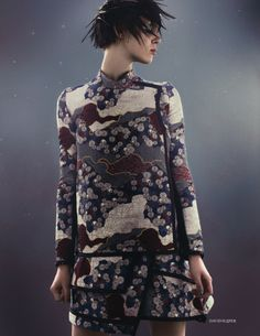 Metamorphosis | Marike Le Roux | David Slijper #photography | Elle UK September 2012