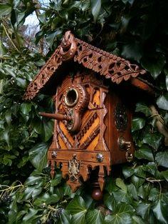 Bird house in my garden in Holland.