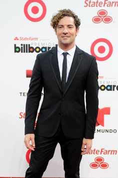 David Bisbal - Arrivals at the Billboard Latin Music Awards