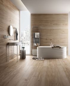 Well in this perfect looking one not all is what is seems (as in life. The floors and walls are wood effect tiles . Wood Effect Porcelain Tiles, Wood Effect Tiles, Wood Tiles, Bathroom Toilets, Bathroom Faucets, Master Bathroom, Bathroom Goals, Bathroom Layout, Diy Bathroom Remodel