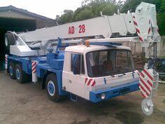 Tatra T815 AD 28 Old Trucks, Car Ins, Motor Car, Crane, Automobile, Monster Trucks, Czech Republic, Vehicles, Autos