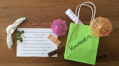 Friendship bags as a present at the end of the school year Source by neumannwinkler