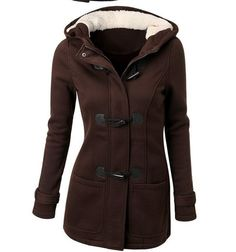 dfa768d3c68 Moderní kabát parka s kožíškem hnědá + POŠTA ZDARMA Na tento produkt se  vztahuje nejen zajímavá sleva