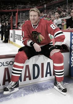 Marian Hossa: I will see him play next season no matter what!