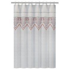 Nate Berkus™ Shower Curtain - Embroidered Panel