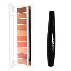 W.Lab Pocket Eye Shadow Blooming Palette + The Face Shop Freshian Big Mascara #WLab