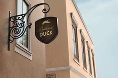 Restaurant / Bar Signboard Mock-Up