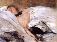 Sleeping Girl, 1899 -  Lovis Corinth (German, 1858-1925) Impressionism