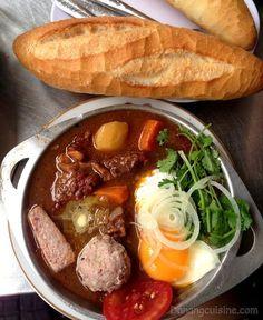 Bò kho (Vietnamese beef stew).