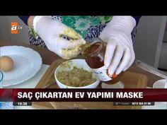 Saç çıkartan ev yapımı maske - atv Ana Haber - YouTube