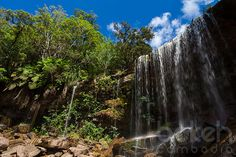 Popokvil waterfalls on Bokor National Park | Kampot Province, Cambodia