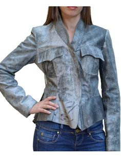 Giacca da donna in Vera Pelle mod. GIUSY SPECIAL - Pellein.com - WOMAN LEATHER JACKET