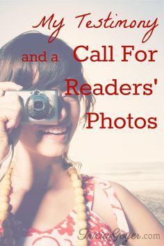 Author Tricia Goyer shares her testimony and calls for her readers' photos - TriciaGoyer.com