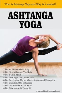 Ashtanga Yoga-- a classical form of yoga after the much-renowned Hatha Yoga 80091e0bb14c